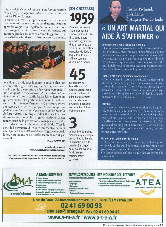 AngersMag- Décembre 2014